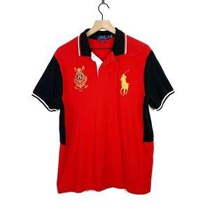Polo Ralph Lauren Custom Fit Rugby Collar Shirt XL